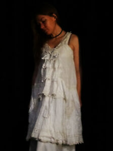 da di indossare magnolia squisito Ooak perla Spumante squisito bianco pisello arte della del dolce della ZnPqOxRH