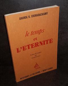 Ananda-Kentish-Coomaraswamy-Le-Temps-et-l-039-Eternite