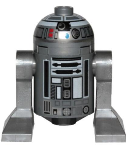 NEW LEGO STAR WARS R2-Q2 MINIFIG  figure silver astromech droid 75218 r2-d2