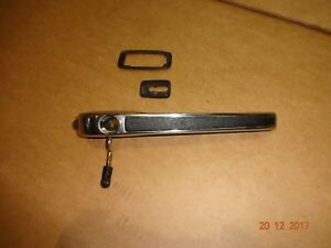PORSCHE 944 CHROME DOOR HANDLE PORSCHE 944 DRIVERS SIDE DOOR ...