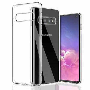 For-Galaxy-S10-Plus-Clear-Transparent-Case-Shock-Absorption-TPU-Soft-Cover