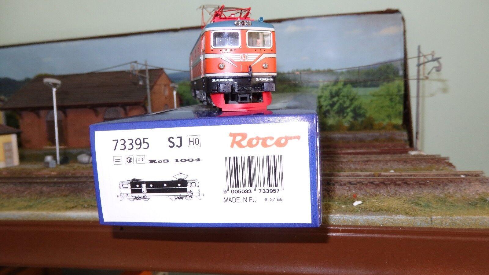 ROCO 73395 Rc3 1064 Rc3 SJ livrea di di di origine arancio fasce bianche, DCC Sound 24ec6f