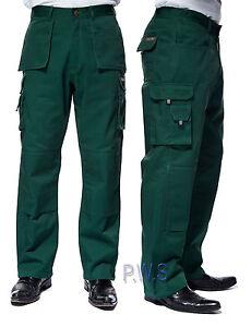 Uneek-Pro-Trousers-Premium-Work-Wear-Pants-Multi-Pockets-Black-Navy-Green-UC906