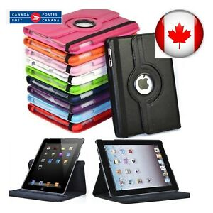 iPad-Case-Cover-Leather-Shockproof-360-Rotating-Stand-ALL-MODELS