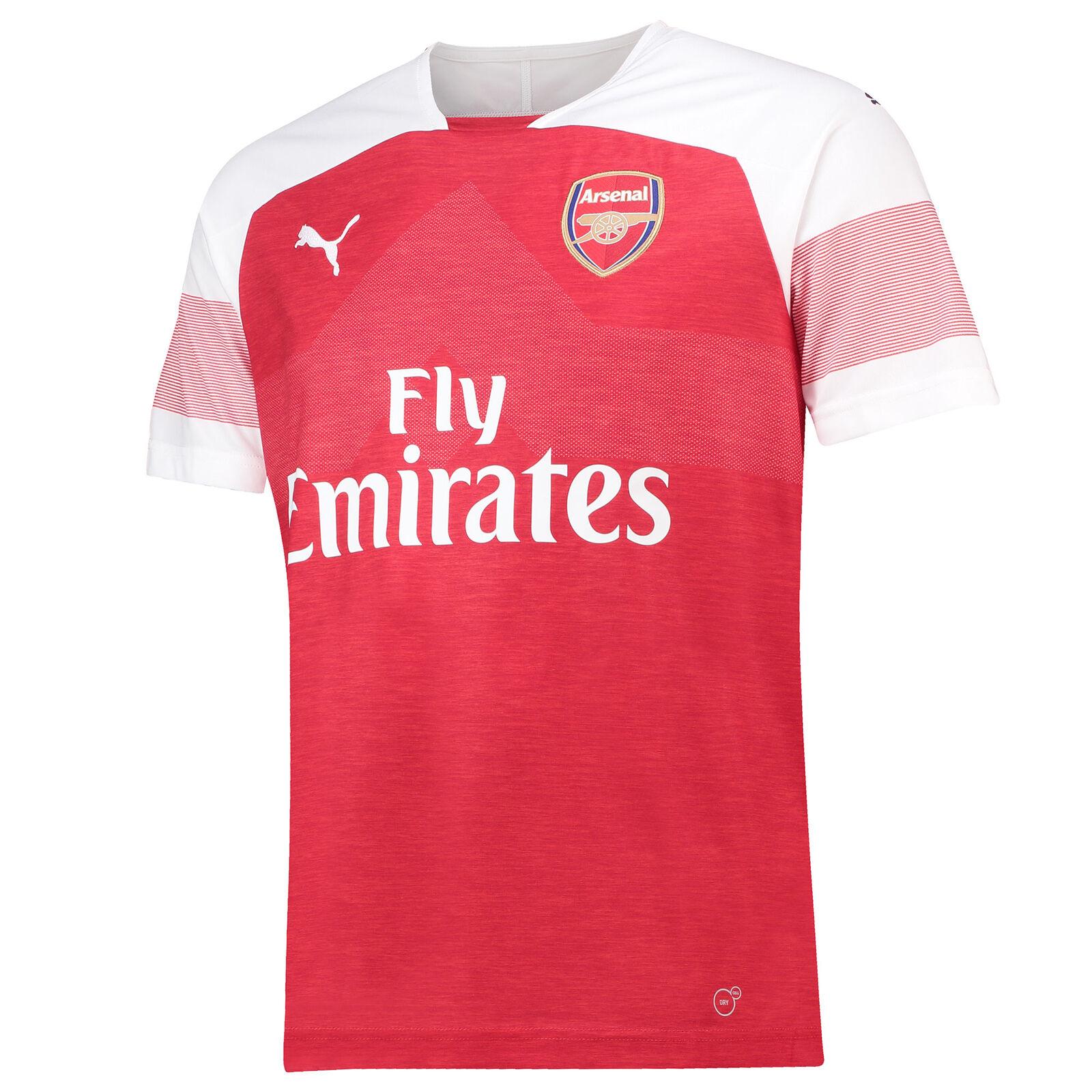 Offiziell Arsenal Heim Shirt Fußball Fußball Fußball Trikot Oberteil 18 19 Übergröße Herren PUMA e8451e