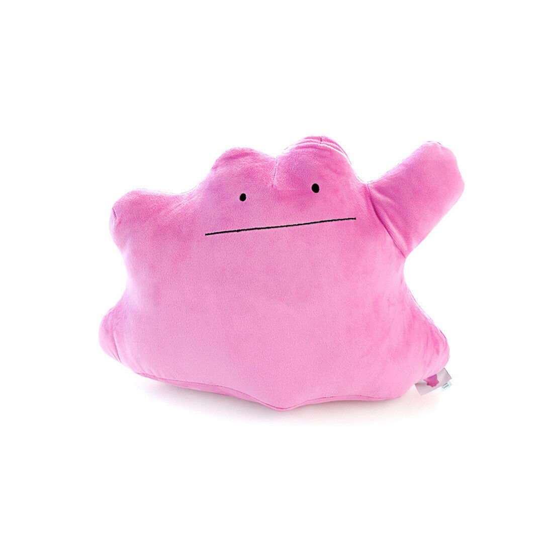 Official Licensed 16  Ditto Cushion Pokemon Plush Toys Soft Stuffed Doll