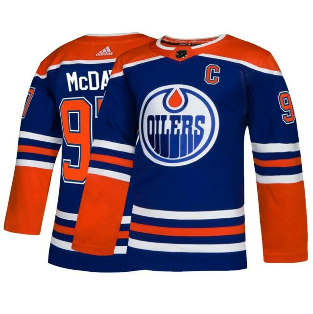 half off 56737 b629a Connor McDavid Edmonton Oilers adidas Alternate Authentic Player Jersey -  Royal