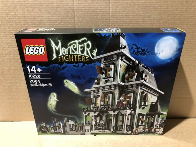 LEGO Monster Fighters 10228 Haunted House Brand New in Sealed Box!