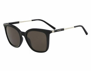 3783287f57 NEW Calvin Klein CK3204S 001 Black   Brown Sunglasses 750779110171 ...