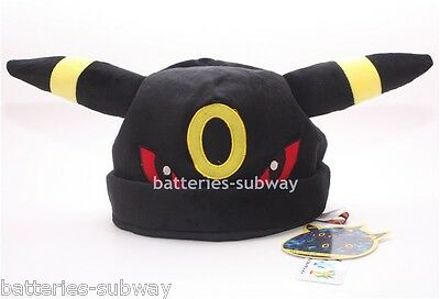 New Pokemon Adult Plush Warm Hat Cap Beanie Costume Cosplay Umbreon
