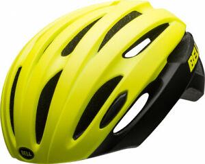 Bell-Avenue-LED-Mips-Fahrradhelm-Rennrad-gelb-Groesse-UA-54-61-cm