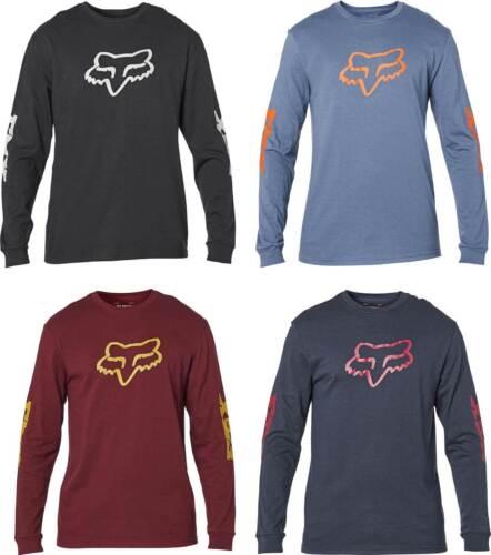 Graphic Tee Mens Motocross MX MTB ATV Fox Racing Finisher Long Sleeve T-Shirt