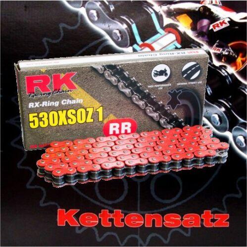 97-03 RK XSOZ Rot X-Ring Kettensatz Yamaha FZS 600 Fazer Bj