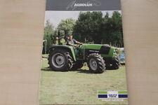 2975 DEUTZ-FAHR 2W SERIE Tractors Prospekt von 10//2019 in englisch