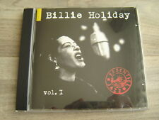 BILLIE HOLIDAY jazz CD swing FEMALE VOCAL 50s*EX+* VOL1 ESSENTIAL blues SOLITUDE