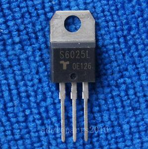 2pcs S6025L S6025 SCRs 1-70 AMPS NON-SENSITIVE GATE