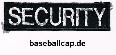 Patch Aufnäher Security Rückengröße Colour Aufnäher Patches Embleme Nummer 4