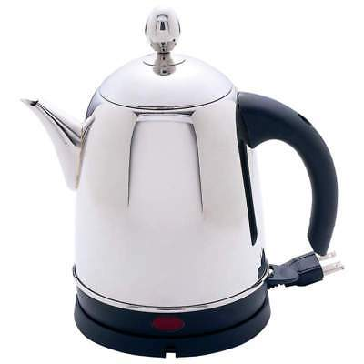 NEW Precise Heat 1.5 Liter Electric Water Kettle 100/% Stainless Steel Inside and
