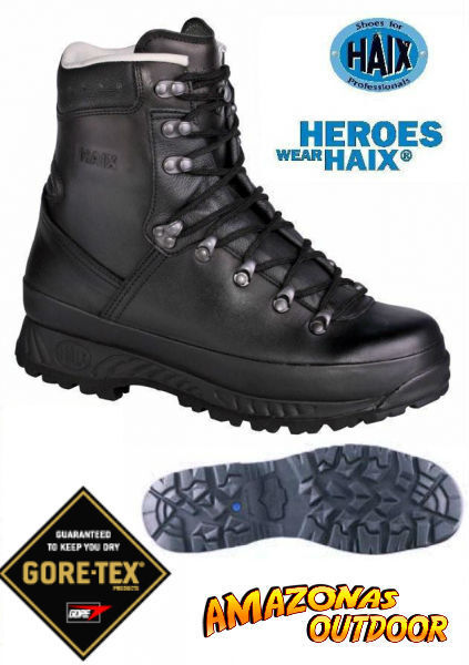 Haix Goretex Mountain Trooper botas