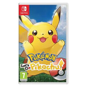 Pokemon Let's Go Pikachu Nintendo switch