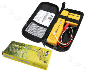 Electrical Wire Tracer Tool | Network Rj11 Line Finder Cable Tracker Tester Toner Electric Wire