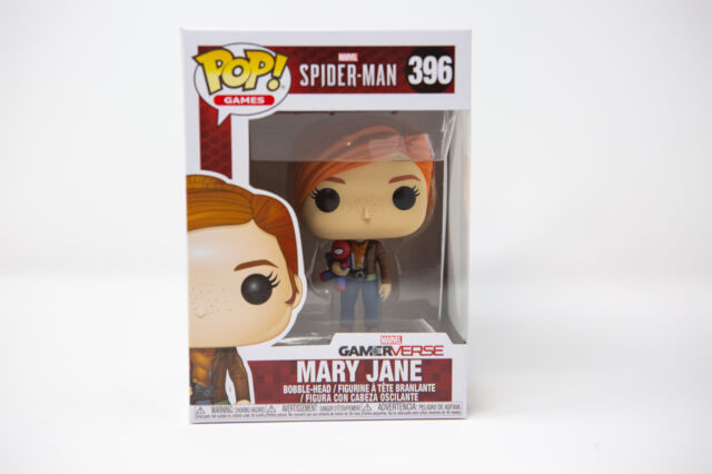 Mary Jane Nr.396 Vinyl-Sammelfigur ca.10 cm Games Marvel Spider-Man Funko Pop