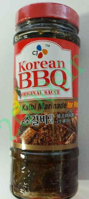 Cj Korean Bbq Original Sauce Kalbi Marinade 480g 4 Pack For Sale Online Ebay