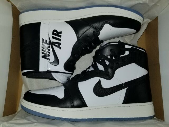 the latest 439db 255a2 WMNS Air Jordan 1 Rebel XX NRG Concord Black/white Womens Size 12 Mens Size  10.5