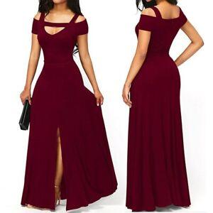 Details About Vestidos Largos De Moda Para Mujer Elegantes Formales Prom Quinces Boda Fiestas