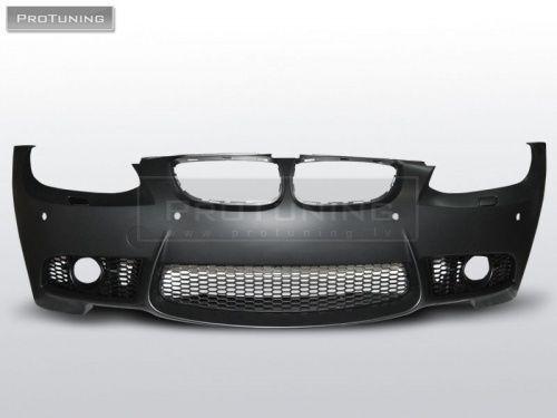 For E92 E93 06-10 M 3 look FRONT BUMPER ABS Plastic Sport tech Cabriolet 2D