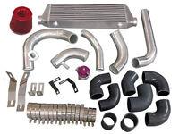 Intercooler Piping Kit + Turbo Intake Pipe Filter Bov For Miata 1.8l Na-t-black