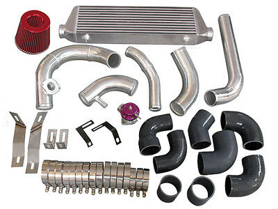 28x7x2.5 FMIC Turbo Intercooler 2.5 Turbo Piping BOV Kit MAZDA MIATA MX5
