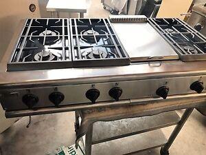 Ge Monogram Acero Inoxidable Gas O Propano 48 Pro Plancha Rangetop 6 En Los Angeles Ebay