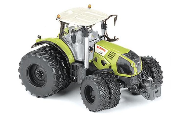 Ros 1:32 échelle Claas Axon 870 8 roues Version-LIMITED EDITION