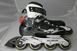 Rollerblade-Inline-Skates-Fusion-X3-Men-Sz-9-80mm-Wheels-SG7-Bearings