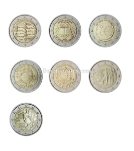 #rm# 2 Euro Commemorative Austria (2005-2018) - All Pieces - Please Choose