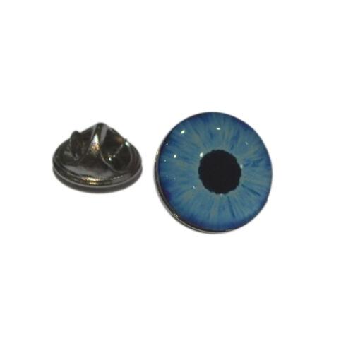 Blue Eye Image Lapel Pin Bagde Optians Gift