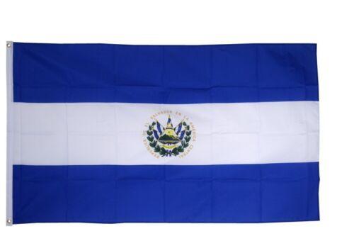 El Salvador Hissflagge salvadorianische Fahnen Flaggen 60x90cm