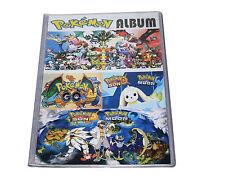 Pokemon Trading Card Album - 8 Pocket Album (Total 192 Pocket)