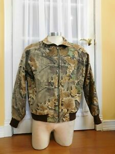 Pre-Owned-Woolrich-Advantage-Camo-Camouflage-Jacket-Size-Mens-Large