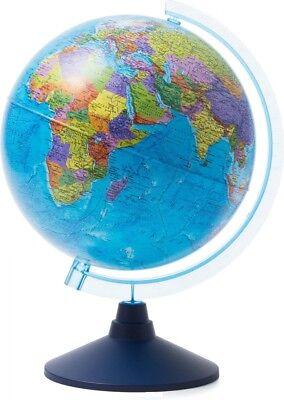 "10"" Large Globe In Russian Глобус Земли Политический 25 см"