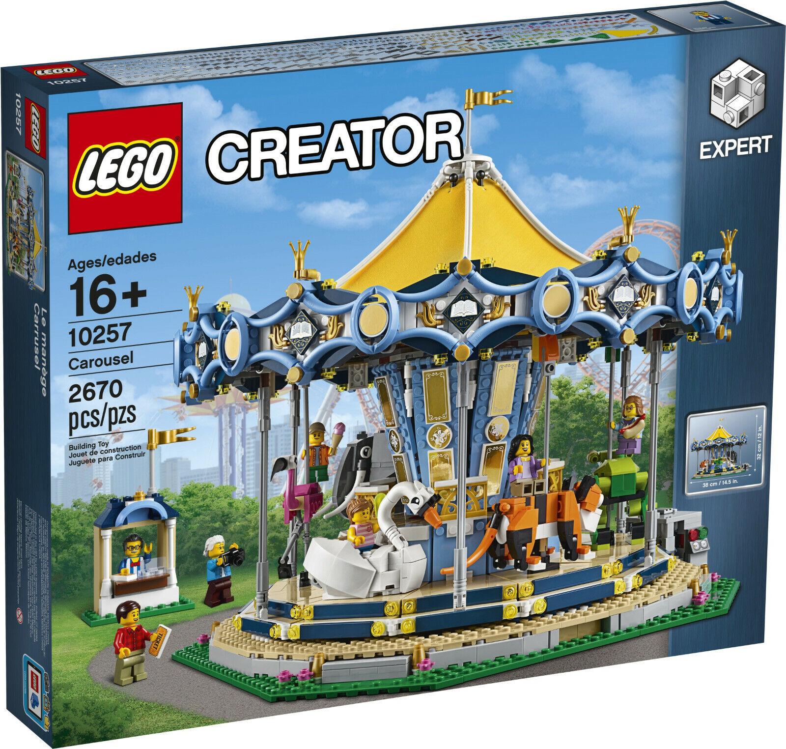 Lego 10257 - Creator Expert - Karussel (Carousel Fairground)