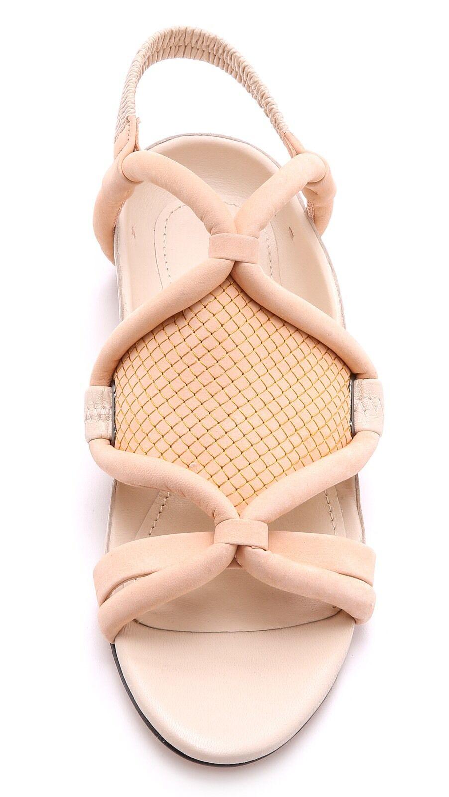 3.1 Phillip Lim Peach-Oyster Peach-Oyster Lim Pink Marquise Flat Sandals /38.5 e79b03