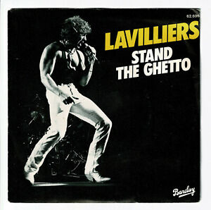 Bernard-LAVILLIERS-Vinyle-45T-SP-7-034-STAND-THE-GHETTO-BARCLAY-62-696-F-Reduit