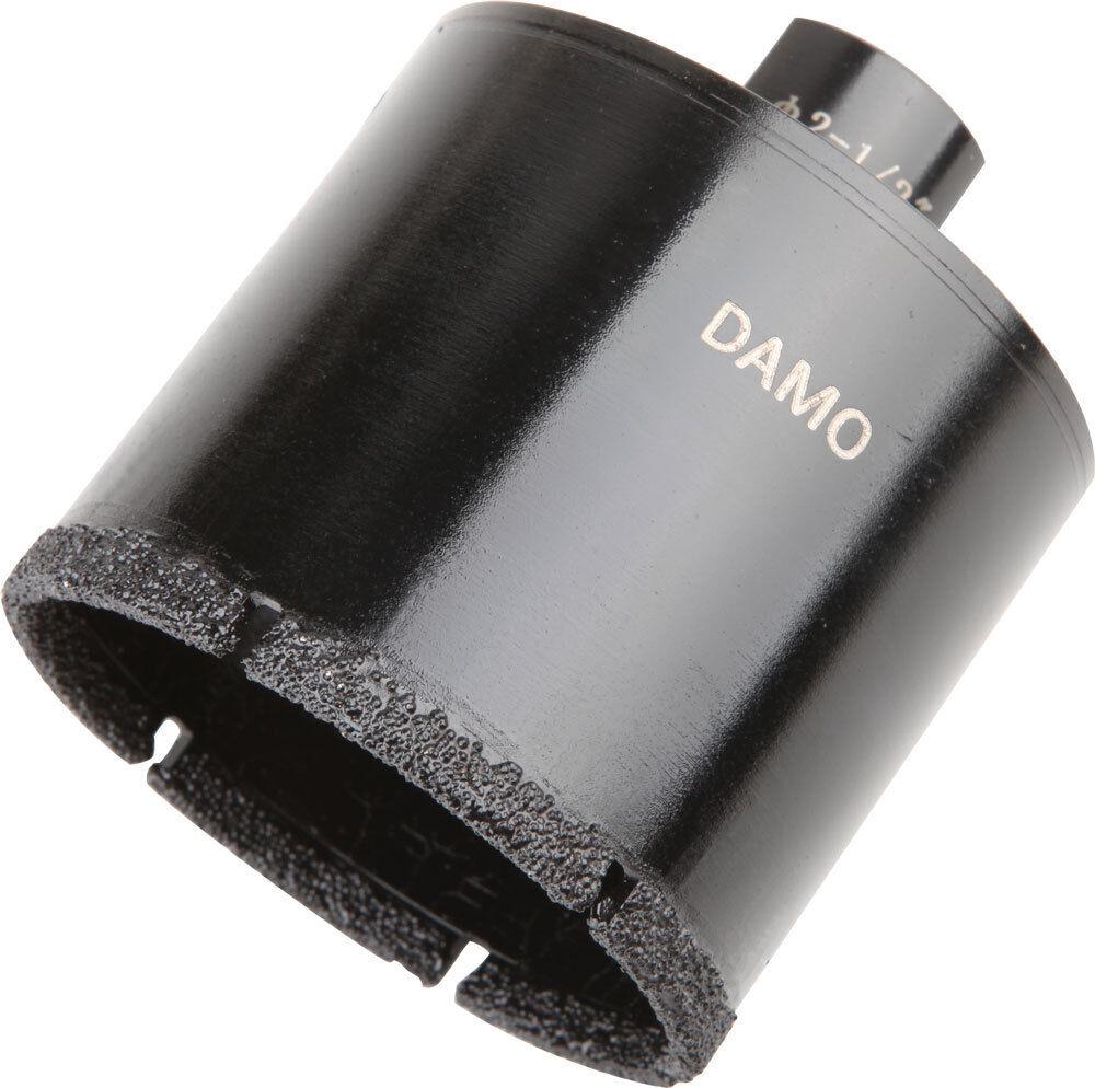 DAMO 2-1 2  Dry Wet Diamond Core Drill Bit Hole Saw for Granite Concrete Stone