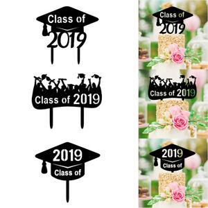 Congrats-Grad-Cake-Toppers-Class-Of-2019-Acrylic-Cake-Picks-Graduation-Decor-M