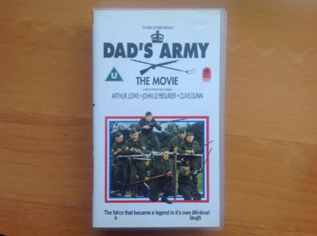 DADS ARMY, THE MOVIE, VHS VIDEO TAPE