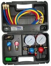 Klima Monteurhilfe für R134a KFZ u. andere Klimageräte mit R404a, R407c oder R22
