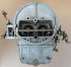 Holley-0-7448-1C-2BBL-Carb-350cfm-Mechanical-Choke-Sq-Bore-Flange