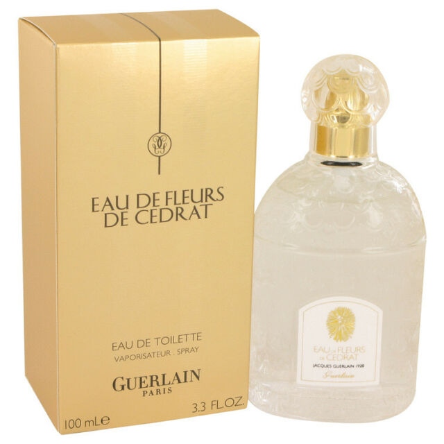 Guerlain Eau De Fleurs De Cedrat Perfume Women 3.4 oz ED Toilette Spray New